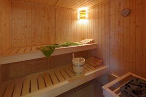 Ferienhaus Fischerdorf Usedom - Ihre Sauna wartet auf Sie