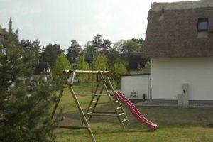 Ferienhaus am Stettiner Haff Außenbereich