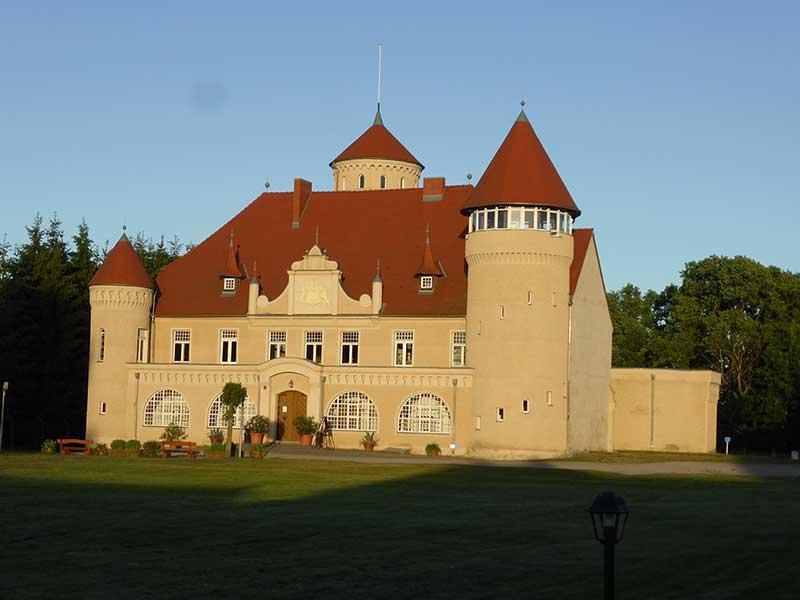Sonneninsel Usedom Schloss Stolpe